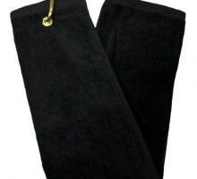 TriFold Towel  Black