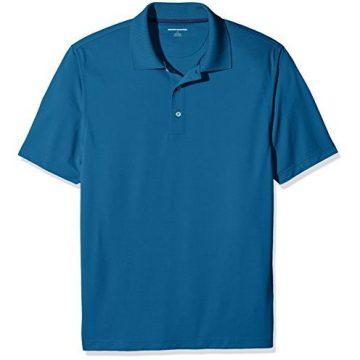 Amazon Essentials Men Quick Dry Golf Polo Shirt Inky Blue XL
