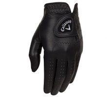 Callaway Golf 2017 Men OptiColor Leather Glove Black Medium Large Worn on Left Hand