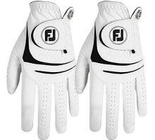 NEW FootJoy WeatherSof 2pk Men Golf Gloves extra Value Pack  Left