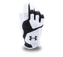 Under Armour Men CoolSwitch Golf Glove White Black Left XLarge