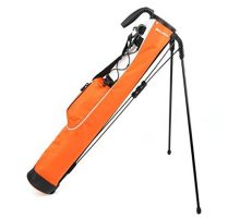Knight Pitch and Putt Golf Lightweight Stand Carry Bag Orange