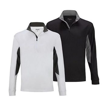 Forgan 2 Pack ST Andrews Men Golf Pullover 1 4 Zip Top M