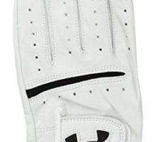 Under Armour Men Strikeskin Tour Golf Glove White White Left XLarge Cadet