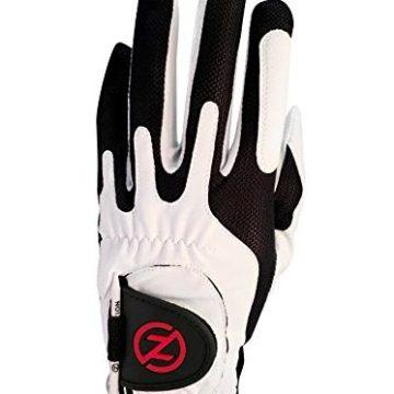 Zero Friction Men Golf Glove Left Hand One Size White