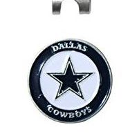 NFL Dallas Cowboys Cap Clip With 2 Golf Ball Markers