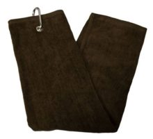 TriFold Towel  Chocolate