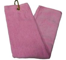 TriFold Towel  Pink