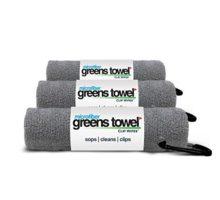 3 Pack of Sterling Silver Microfiber Golf Towels