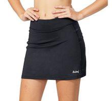 Baleaf Women Active Athletic Skort Lightweight Skirt with Pockets for Running Tennis Golf Workout Black Size L