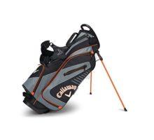 Callaway Golf 2017 Capital Stand Bag Black Charcoal Orange