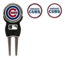 MLB Chicago Cubs Divot Tool Pack With 3 Golf Ball Markers
