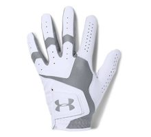 Under Armour Men CoolSwitch Golf Glove White Steel Left Hand XLarge