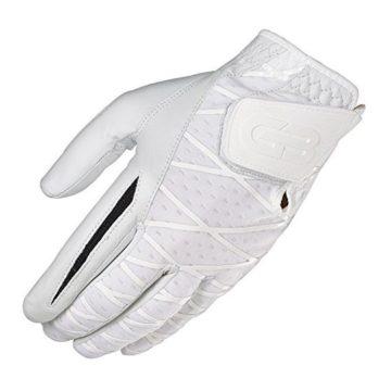 Grip Boost Men Left Skin Golf 20 Gloves Large White