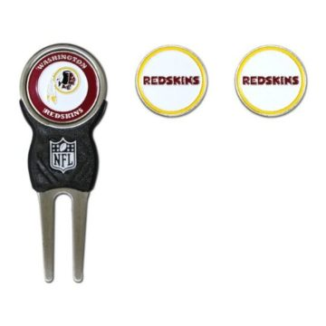 NFL Washington Redskins Divot Tool Pack With 3 Golf Ball Markers
