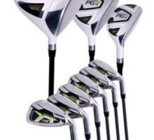 Pinemeadow Men PGX Golf SetDriver 3 Wood Hybrid 5PW Irons