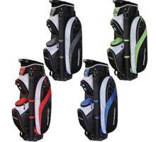 PROSiMMON Tour 14 Way Cart Golf Bag Black Grey