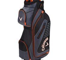 Callaway Golf 2017 Capital Cart Bag Black Charcoal Orange