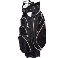HotZ Golf 45 Cart Bag Black White