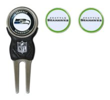 NFL Seattle Seahawks Divot Tool Pack With 3 Golf Ball Markers