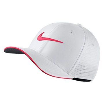 Nike Classic 99 Mesh Golf Cap 2017 White Siren Red Anthracite Large XLarge
