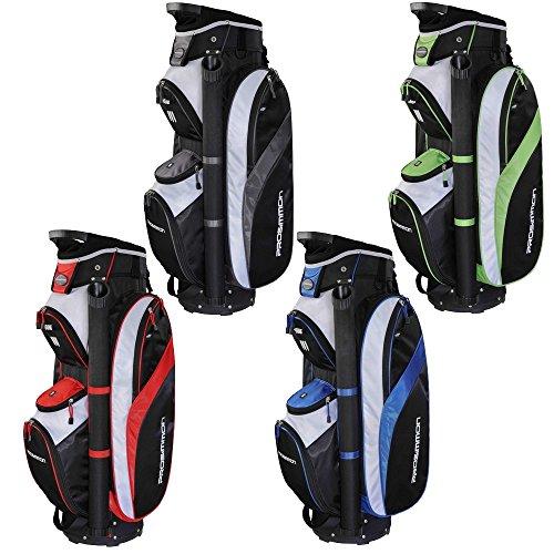 PROSiMMON Tour 14 Way Cart Golf Bag Black Green