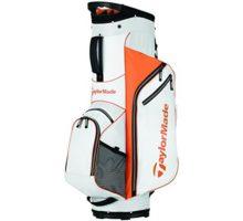 TaylorMade 2017 Golf Bag TM Cart Bag 50 WhtOrg White Orange