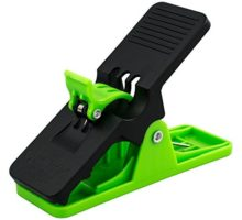 Cigar Minder Clip All Purpose Cigar Holder with Light Pressure Spring Holds Most Sizes of Cigars Green