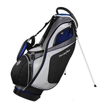 Powerbilt TPS Dunes 14Way Black Blue Stand Golf Bag