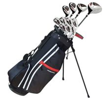 Prosimmon Golf X9 V2 Tall +1″ Mens Graphite Steel Golf Club Set & Bag  Stiff Flex