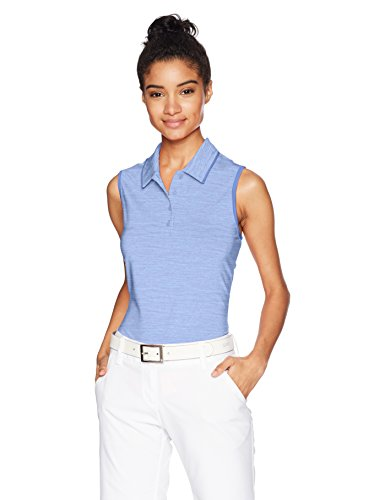 adidas Golf Women Ultimate 365 Sleeveless Polo Chalk Purple Medium
