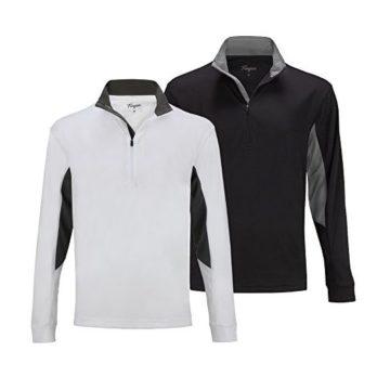 Forgan 2 Pack of St Andrews Men Golf Pullover 1 4 Zip Top L