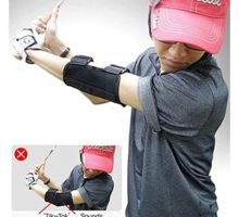 Golf Training Aid Swing Straight Practice Golf Elbow Brace Corrector Support Arc Golf Equipment