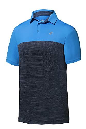 Jolt Gear DriFit Golf Shirts for Men  Moisture Wicking ShortSleeve Polo Shirt