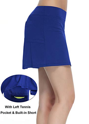 HonourTraining Women Workout Active Skorts Sports Tennis Golf Skirt With BuiltIn Shorts size XL