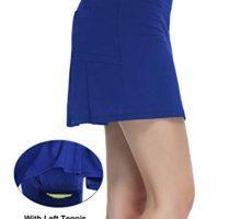 HonourTraining Women Workout Active Skorts Sports Tennis Golf Skirt With BuiltIn Shorts size XL