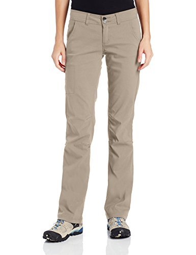 prAna Women Halle Short Inseam Pant Dark Khaki 10
