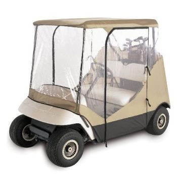 Classic Accessories 72052 Fairway Travel 4Sided 2Person Golf Cart Enclosure