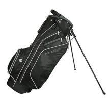HotZ 2017 Golf 20 Stand Bag Black White