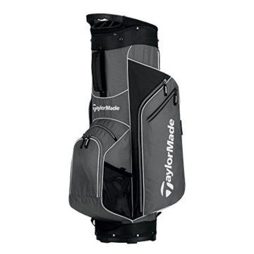 TaylorMade 2017 Golf Bag TM Cart Bag 50 GryWht Grey White