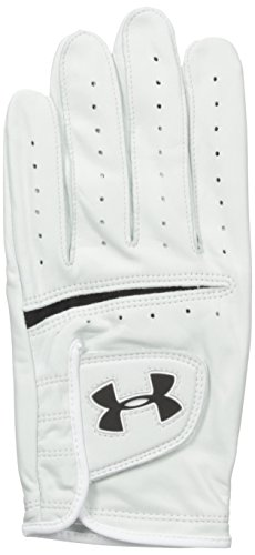 Under Armour Men Strikeskin Tour Golf Glove White