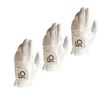 FINGER TEN Men Golf Gloves All Weather Left Hand 3 Pack Rain Hot Wet Grip Fit Small Medium Large XL
