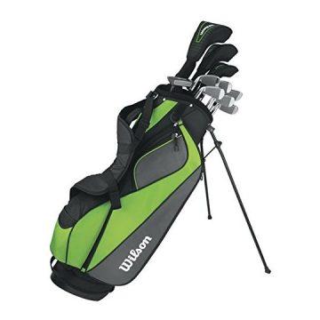 Wilson Men HyperSpeed Complete Standard Golf Club Set & Bag WGGC47310