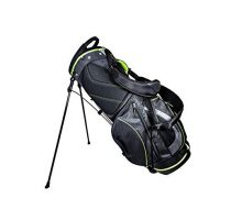 Club Champ Deluxe Stand Golf Bag Black Green