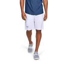 Under Armour Men Raid 10″ Shorts White  Graphite Large