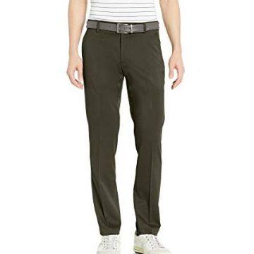 Amazon Essentials Men SlimFit Stretch Golf Pant Olive 29W x 29L