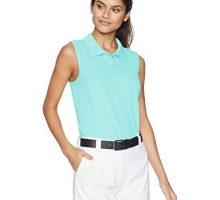 Greg Norman Women Protek Micro Pique S l Polo Cool Mint XXLarge