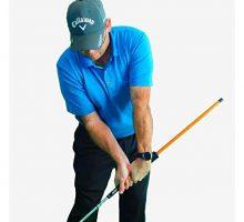 AntiFlip Stick™ Impact Golf Swing Training Aid | Teaches Proper Impact & Swing Plane | Golf Swing Trainer | Golf Chipping Practice Aid