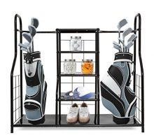 Morvat Golf Organizer for Golf Bag and Golf Accessories | Perfect Way to Store and Organize Your Golf Equipment Golf Clubs and Golf Travel Bag