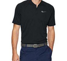 Nike Men Dry Momentum Team Polo Golf Shirt Black Cool Grey XLarge